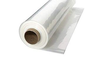 A & A Vert Store Serre Plastique 4Year 6mil résistant aux UV Effacer Film de polyéthylène 12′ x 25′ Claire