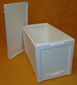 ableger Boîte Langstroth avec baguettes en plastique