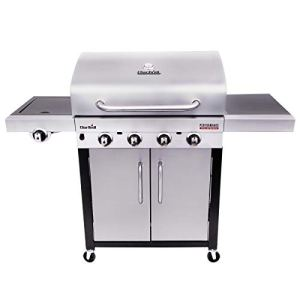 Char-Broil Performance Series 440S – Barbecue à gaz à 4 brûleurs avec système de cuisson TRU-Infrared, finition en acier inoxydable.