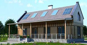 Dahier Maison en bois 2 x 5 135 m²