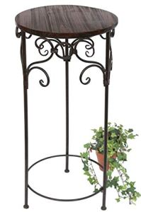 DanDiBo Tabouret Porte-Fleurs HX12590 Support de Fleurs 78 cm Rond Colonne à Fleurs Table Table d'appoint