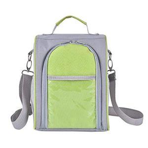 Huiteng Sac isotherme pour pique-nique en plein air, ce sac à dos cool est spacieux et facile à transporter.