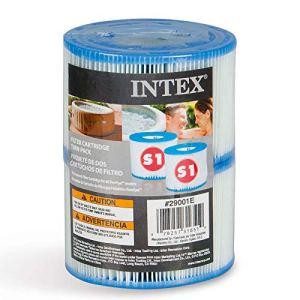 INTEX Cartouches filtrantes de Type S1 pour PureSpa, Lot de 2