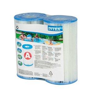 INTEX Lot de 2 Cartouches filtrantes Type A pour piscines