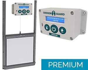 Kit Porte verrouillable et Portier Automatique ChickenGuard Premium FR poulailler