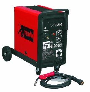 Telwin TE-821056 TE-821056-SOLDADOR DE HILO MIG-MAG TELMIG 200/2 Turbo 230V