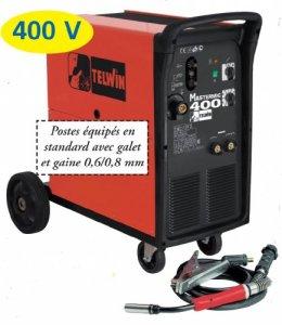 Telwin TE-827004 TE-827004-SOLDADOR DE HILO MIG-MAG/Flux/COBRE SOLDADURA MASTERMIG 400 230-400V