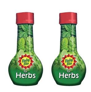 2 x Baby Bio Engrais pour l'alimentation animale des aliments herbes 175 ml