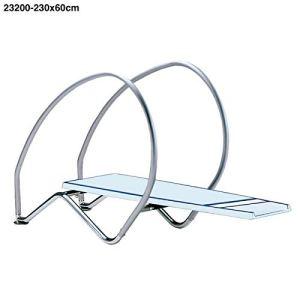 23200 trampoline dynamique longueur 2,30 m largeur 0,60 m planches et trampolines
