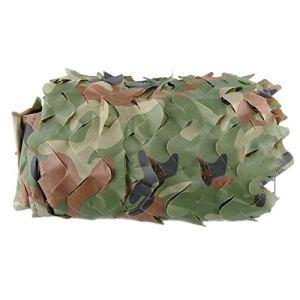 ALGFree Filet D'ombrage Filet de Camouflage Filet Camo Tissu Voiles Jungle Crème Solaire Décoration Satellite Aveugle Observant Cacher Empêcher ,11 Tailles (Color : Green, Size : 10x50m)