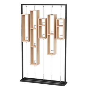 AYHa Support de fleur rétro simple étagères de rangement en fer forgé support de stockage support de restaurant, B,B