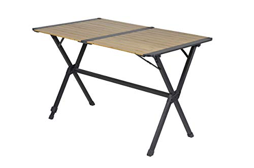 Bo-Camp Urban Outdoor Urban Outdoor Lamel Table-Maryland-111x72x70 cm-Bambou, Anthracite