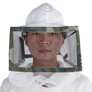 Chapeau d'apiculture, Coton d'apiculture en Plein air Voile Chapeau Anti-Moustique De Protection Net Chapeau Matériel d'apiculteur