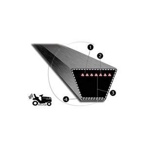 Courroie de tondeuse MITSUBOSHI 4L 77 pouces Super Kevlar renforcé