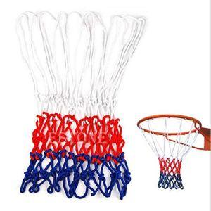 d8on6hh87gfjohy Nylon Basketball Netball Anneau de But Filet de Sport Rouge Blanc Bleu FDS