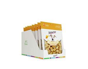 Dokas Poulailler Cube avec Pommes de Terre et graines de Noix 8 x 150 g