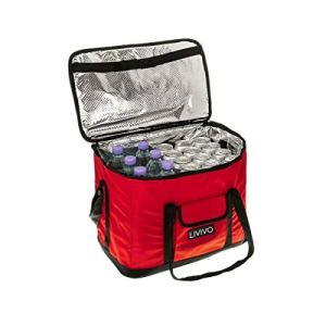FiNeWaY@ NEW EXTRA LARGE 30 LITRE 60 CAN INSULATED COOLER COOL BAG COLLAPSIBLE PICNIC CAMPING