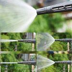 HRSS Tuyau d'arrosage Set Pistolet à Eau en métal Haute Pression avec Trois raccords de tuyauterie d'eau d'irrigation Jardinage arrosage Lavage de Voiture (Taille: 10 m) (Size : 15 m)