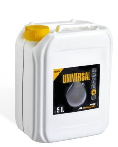 Huile de chaîne Universal, OLO024: Huile adhésive pour chaînes de scie à moteur, 5l, à pouvoir lubrifiant élevé, à base d'huiles de base minérales, biodégradable (n° art. 00057-76.164.24)