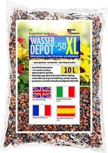 Humusziegel – granulés d'argile expansée 4-8mm XL concassés, comme réservoir d'eau, contre les mauvaises herbes et l'engorgement 10 L