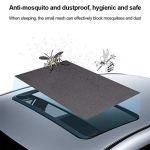 Lizefang Couverture De Toit De Voiture Magnétique Anti-Moustique