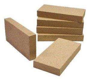 Lot de 4 cheminées, four à pizza, barbecue, poêle à vermiculite de qualité supérieure 230 mm x 114 mm x 25 mm