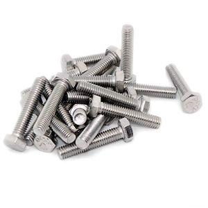 M6(6MM X 30mm) hexagonale Boulons (Entièrement filetée Tige filetée)–(A2) en acier inoxydable (lot de 20)