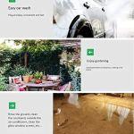 Mini rétractable Dévidoir Boîte avec tuyau et buse de pulvérisation, Tuyau compact de stockage Kit de support for le jardin, Patio, nettoyage des pelouses et de lavage de voiture LJJOO