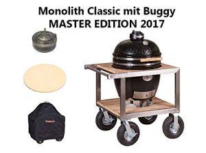 Monolith Classic Pro 1.0 Barbecue en céramique avec buggy et accessoires spéciaux
