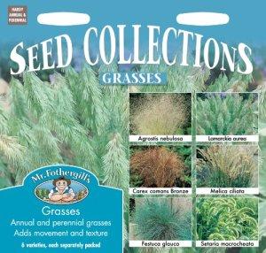 Mr. Fothergill's 10834 Lot de 6 sachets de graines d'herbes