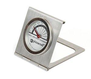 Pizzacraft Thermomètre à Four et à Barbecue PC0409-gris, Argent, 1,4×12,29×20,32 cm