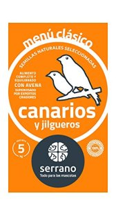 Serrano a-02105Menu Classique Canarien C/A–5x 5kg