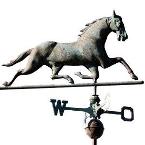 SvenskaV girouette en forme de cheval style antique