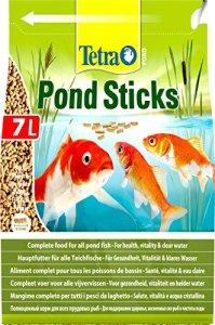 Tetra Pond Sticks – Alimentation Quotidienne idéale pour tous les Poissons de Bassin – Enrichi en Oligo-éléments, Vitamines essentiels, Caroténoïdes – Ne pollue pas l'eau – 7L