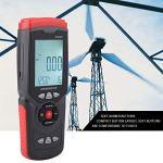 Thermomètre à vent, compteur de vent, compteur de vitesse de débit d'air haute précision, multifonction pour mesurer la vitesse du vent
