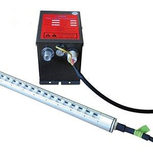 Transformateur haute tension antistatique Ion Barres avec 900mm x 960mm antistatique et anti poussière Ion clés