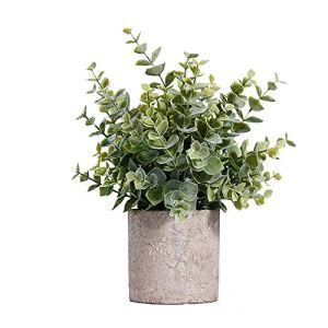 TTaceb Fausse Plantes Plante Artificielle Véranda Décor en Pot Plantes D'extérieur Faux Plantes en Pots Décor à la Maison Plantes d'extérieur Bureau Décor