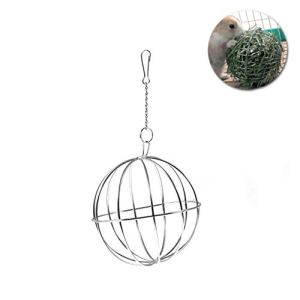 ueetek boule à suspendre pour porte herbe pour lapin diamètre de 8cm en acier inoxydable