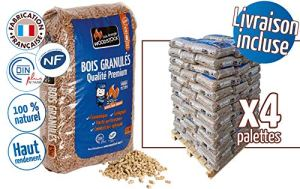 Woodstock Bois GRANULES Combustible