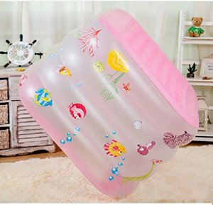 &Coiffe de corolle Baignoire gonflable, matériaux thermiques gonflables de grande famille de douche de Bath de Bath de Bath de bébé ( Couleur : B , taille : 140*100*70cm )