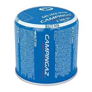 12 x 190g Campingaz C206 GLS Pierceable Cartridges – New With Gas Lock System by Campingaz