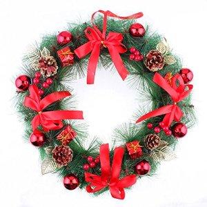 40Cm Aiguilles de pin de Noël Rosette Décorations de Noël Colonne en pirate ( Couleur : 3 )
