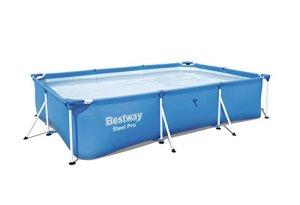 Bestway Splash Jr. Armature de Piscine en Acier–221x 150x 43cm