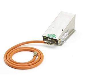 Bio Green MI Chauffage en acier inoxydable pour serre Alimentation gaz propane 800 W