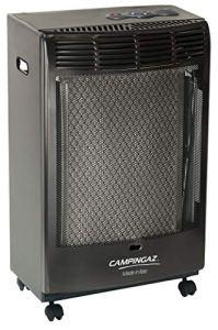 Campingaz Chauffage d'appoint à Gaz CR 5000 Thermo, Poêle à Gaz sur Roues, Chauffage Maison avec Allumage Piezo