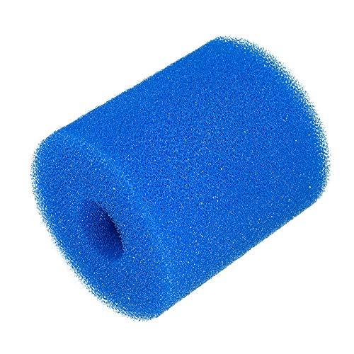Cartouche en mousse réutilisable lavable pour filtre de piscine Intex Type H