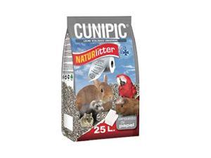 CUNIPIC NATPA25 Naturlitter Papier 25 l