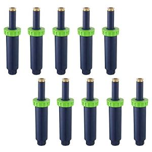 Dasing Lot de 10 paquets de 10 arroseurs réglables 180 degrés 1/2