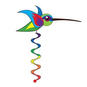 Elliot Colibri Girouette, Multicolore, 35 x 10 x 90 cm