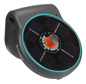 Ensemble d'arrosage solaire GARDENA AquaBloom: Système d'arrosage fonctionnant à l'énergie solaire pour plantes de balcon et en pot, jusqu'à 4m de hauteur, quelle que soit la saison (13300-20)